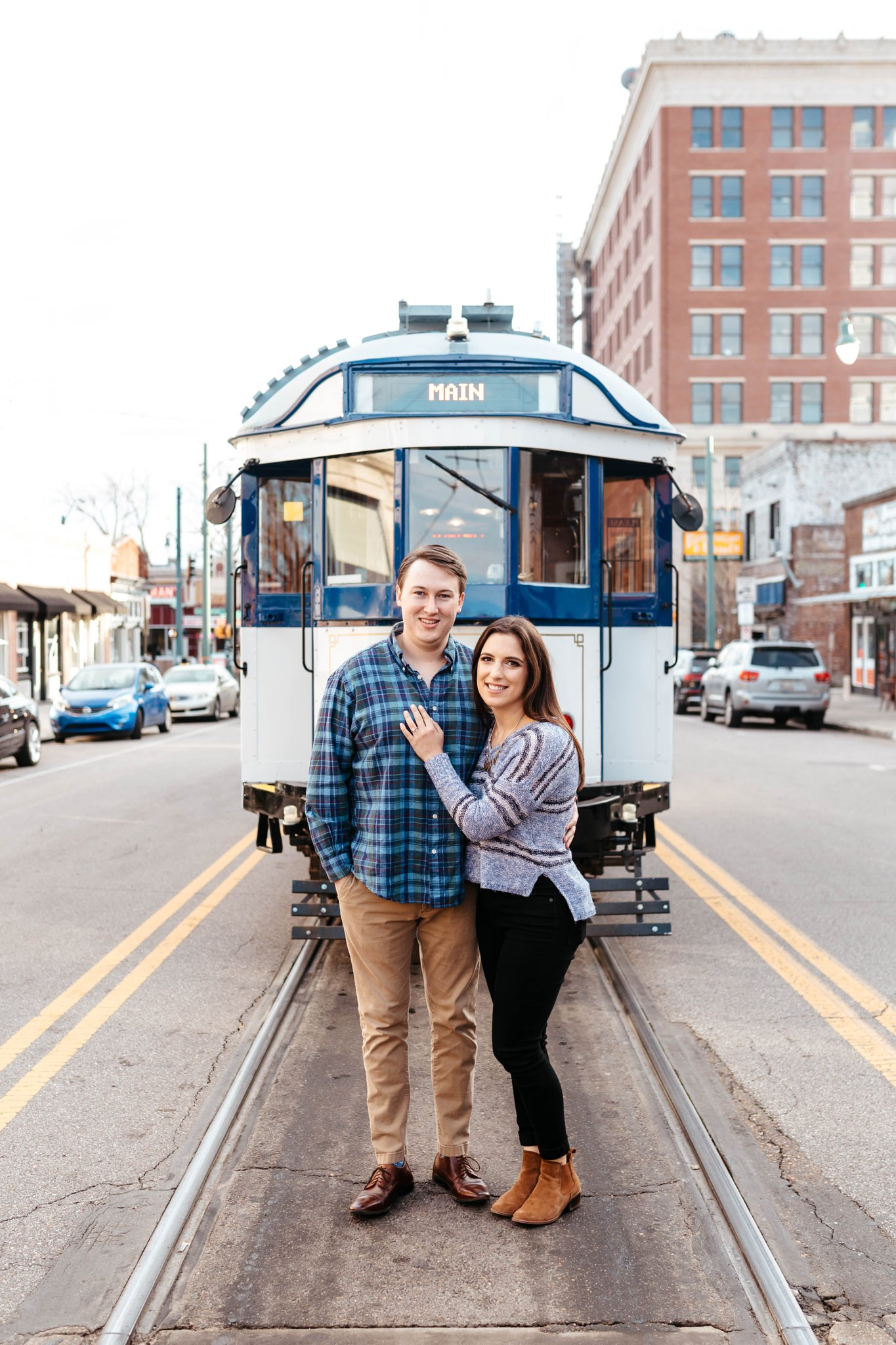 Downtown Memphis Engagement Session_0006.jpg